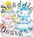 スワドルデザインおくるみ おむつケーキ 出産祝いギフト 男の子 女の子 バルーン ベビー パンパース 双子 誕生日 プレゼント クリスマス  ハリウットセレブ ベビーギフト 送料無料 お誕生日 02P03Dec16