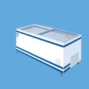 アイスクリームから魚介類食肉まで無風冷凍冷蔵切替式ショーケース 460リットル GTXS-76