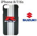 SUZUKI・公式ライセンス品 iPhone8 iPhone7 iPhone6s iPhone6 iPhone SE(2020第2世代) にも対……