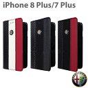 アルファロメオ・公式ライセンス品 iPhone8Plus iPhone7Plus 手帳型 アイフォン8プラス アイ……