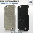 BMW・公式ライセンス品 iPhone6s iPhone6 アイフォン6 ハードケース バックカバー 本革【 アイフォン6 iPhone6sケース 本革 レザー ブランド iPhoneケース ブラック アイホン かっこいい メンズ シンプル ビジネス シンプル な デザイン に ロゴ が絶妙な アイフォンケース】