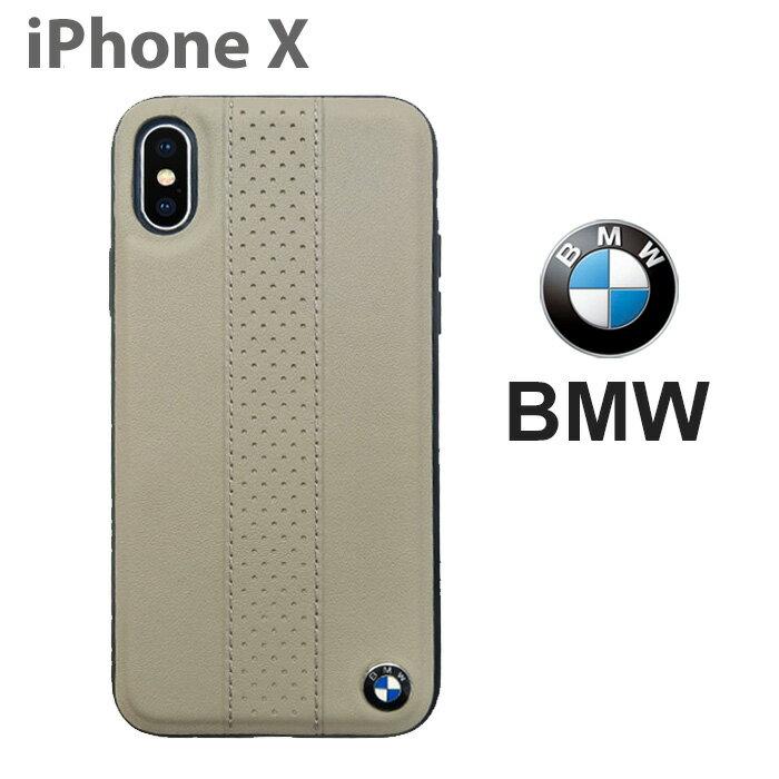 e3fd64c019 BMW・公式ライセンス品 iPhoneXケース ハードケース【 本革 TPU アイフォンXケース