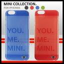 MINI 公式ライセンス品 iPhone6s iPhone6ケース クリアケース ミニクーパー アイフォン6s アイフォン6ケース iPhone6sケース カラフルなカラー オレンジ ブルー ブラック グリーン から選べる クリアカバー シンプル で さわやかな カラー だから飽きが来ない!【送料無料】