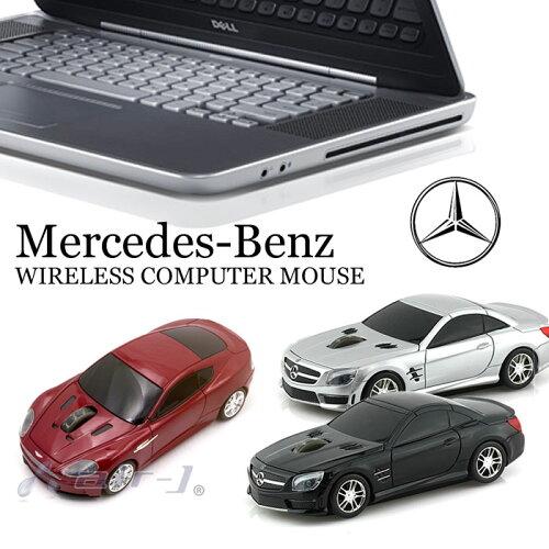 車型 マウス メルセデスベンツ [正規ライセンス品] Mercedes-Benz SL63 AMG ワイヤレス コンピュ...