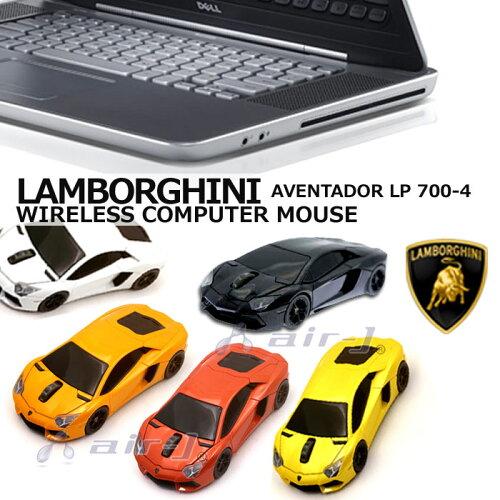 車型 マウス ランボルギーニ 正規ライセンス AVENTSDOR LP 700-4 アベンタドール ワイヤレス コン...