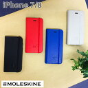モレスキン・公式ライセンス品 iPhone8 iPhone7 iPhone SE(2020第2世代) にも対応 手帳型 ケー……