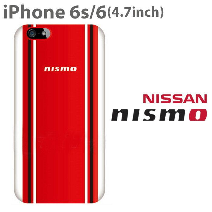 b65d976b8f 【SALE】ニスモ・公式ライセンス品 iPhone6s 6ケース ハードケース 鮮やかなレッド