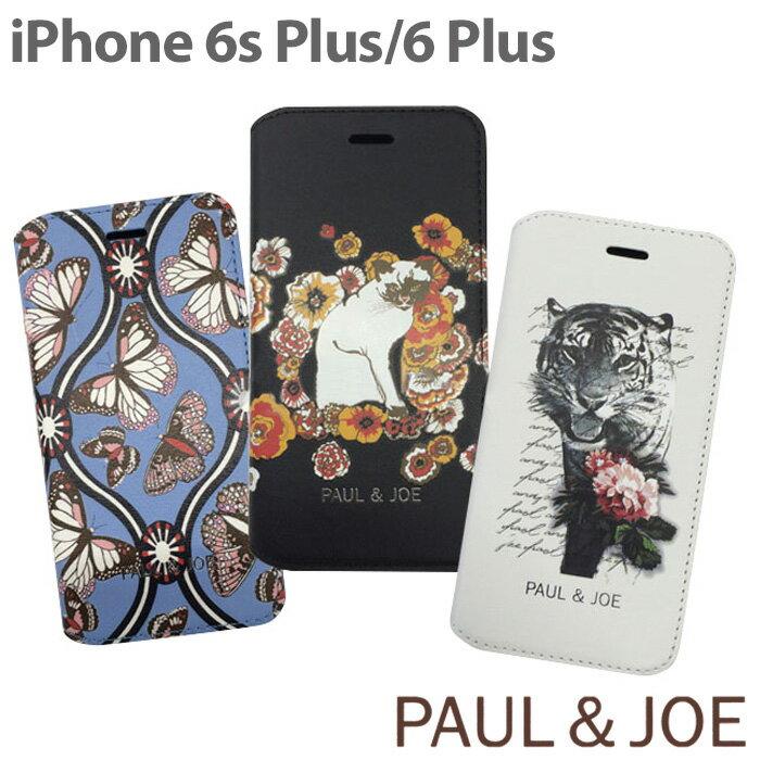 ff225eed1a 【SALE】PAUL&JOE・公式ライセンス品 iPhone6Plus 6sPlusケース 手帳型 【トラ,