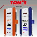TOM'S トムス・ 公式ライセンス品 iPhone7 iPhone6s iPhone6 専用PUレザー 手帳型ケース 36 au 37 keeper アイフォン7 ケース カバー カード収納 カードフォルダー アイフォン7 アイフォン6 アイフォン6s アイフォンカバー 車 カーライセンス 送料無料 あす楽対応