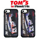 【SALE】TOM'S トムス 公式ライセンス品 iPhone7 iPhone6s iPhone6 専用 TPU+PC 衝撃吸収……