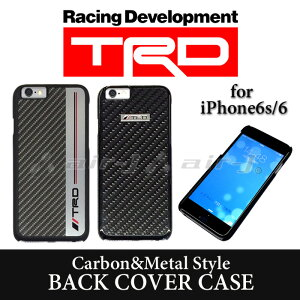 TRD 公式 iPhone6s iPhone6 専用 メタル カーボン 背面ケースTRD 公式 iPhone6s iPhone6 (4.7in...