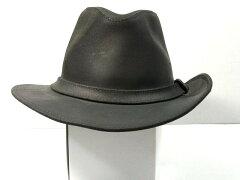 MINNETONKA ミネトンカ HAT(ブラックスエード)