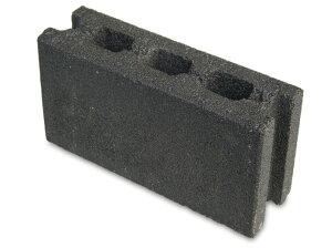 【ブロック】【コンクリートブロック】デコブロック ブラックマイカ(12丁入)インテリアの一...