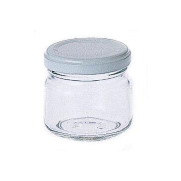 ジャム瓶 90 (ガラス瓶 保存容器)【手作りジャムや山菜保存に】