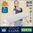 【30日間お試しいただけます】エアウィーヴ S-LINE セミダブル 高反発マットレス 厚さ7cm