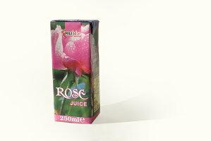 ダマスクローズジュース(飲むバラ)バラジュース250ml1ケース(18本)セット