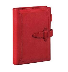 ダ・ヴィンチグランデ聖書サイズシステム手帳ロロマクラシックレッドDB3014R【レイメイシステム手帳】
