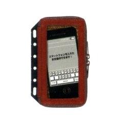 SmartPhone Case!レイメイ 6穴革製 スマートフォンケース S ブラウン DR228C