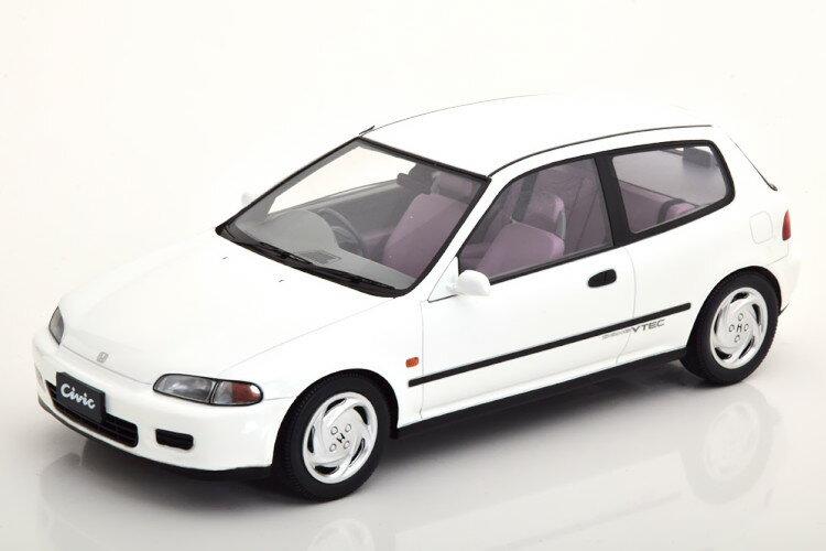 車, ミニカー・トイカー TARMAC 118 EG6 SIR 2 1993 250 Tarmac 1:18 Honda Civic EG6 SIR II 1993 white Limited Edition 250 pcs