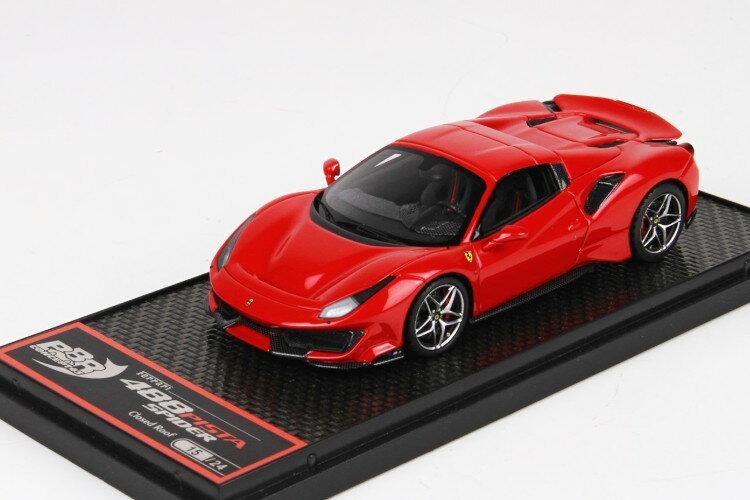 車, ミニカー・トイカー BBR 143 488 24 Ferrari 488 Pista Spider Roof Closed Red Corsa 322