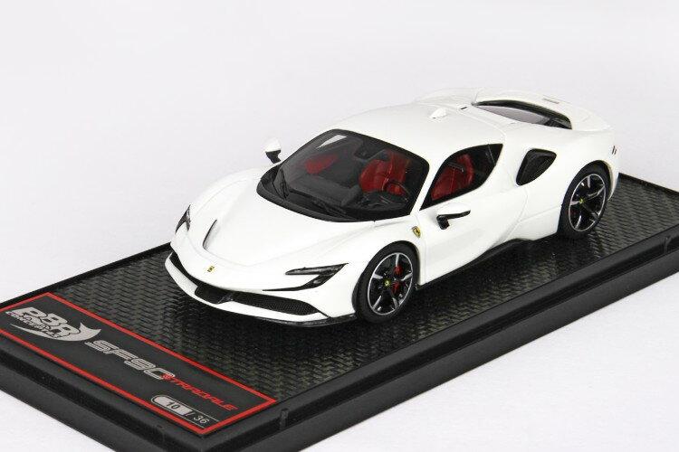 車, ミニカー・トイカー BBR 143 SF90 36 BBR 1:43 Ferrari SF90 Stradale Avus White Limited Edition 36 pcs