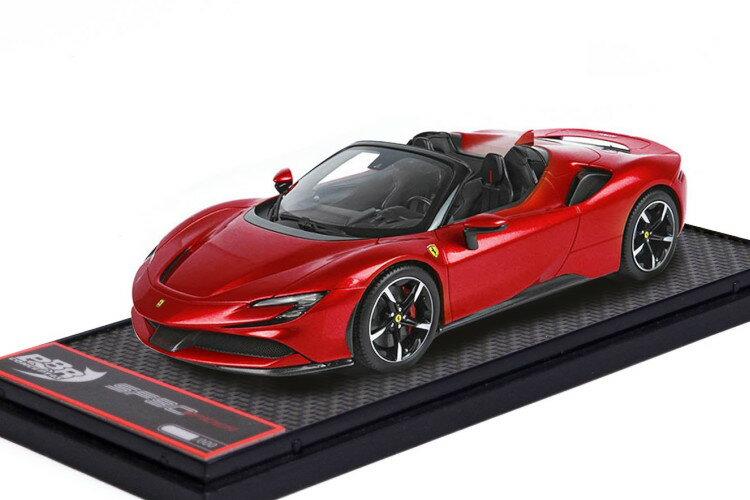 車, ミニカー・トイカー BBR 143 SF90 322 BBR 1:43 Ferrari SF90 Spider Rosso Corsa 322 red