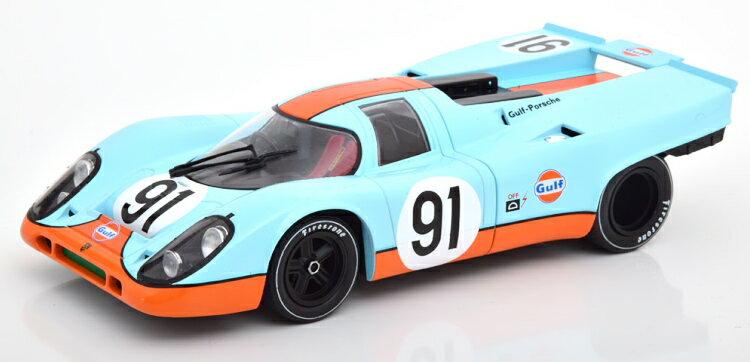 車・バイク, クーペ・スポーツカー CMR 118 917K 91 1000km Can-Am Watkins Glen 1971 Porsche Gulf Attwood