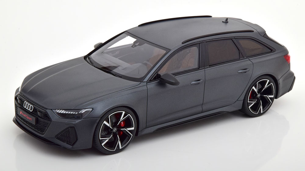 車, ミニカー・トイカー GT 118 RS6 2020 1999 GT Spirit 1:18 Audi RS6 Avant 2020 matt-grey Limited Edition 1999 pcs