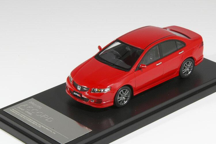 車, ミニカー・トイカー Hi-Story 143 R 2005 Honda Accord Euro R Mirano Red