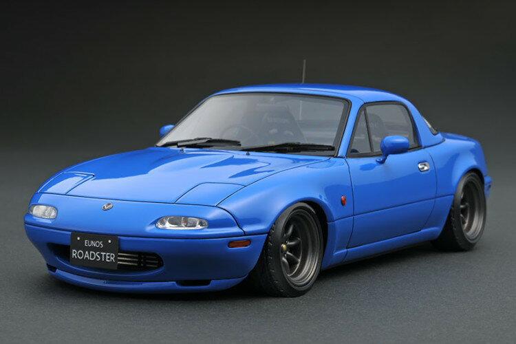 車, ミニカー・トイカー ignition model 118 NA Eunos Roadster (NA) Blue