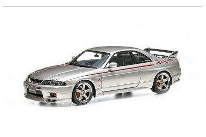 車, ミニカー・トイカー  118 GT-R BCNR33 V ignition model Skyline GT-R R33 V-spec Silver