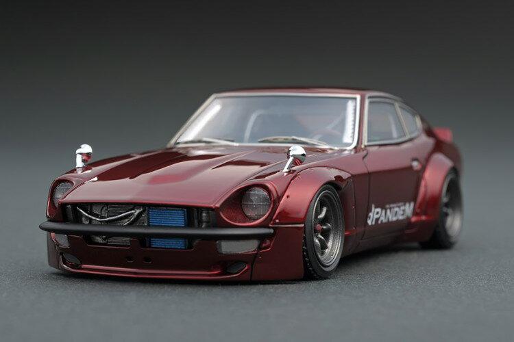 車, ミニカー・トイカー  143 S30 Z ignition 1:43 Rocket Bunny PANDEM S30 Z Red Metallic