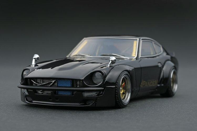 車, ミニカー・トイカー  143 S30 ignition 1:43 Rocket Bunny PANDEM S30 Z Black
