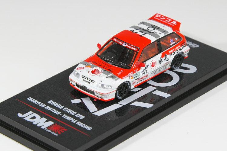 車, ミニカー・トイカー INNO 164 EF9 HONDA CIVIC IDEMITSU MOTION TEMPLE RACING