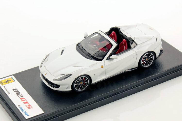 車, ミニカー・トイカー  143 812GTS 2019 LookSmart 1:43 Ferrari 812GTS SPIDER 2019 WHITE