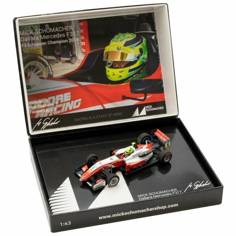 車, ミニカー・トイカー  143 F317 4 F3 2018 Mick Schumacher Dallara formula 3 champion
