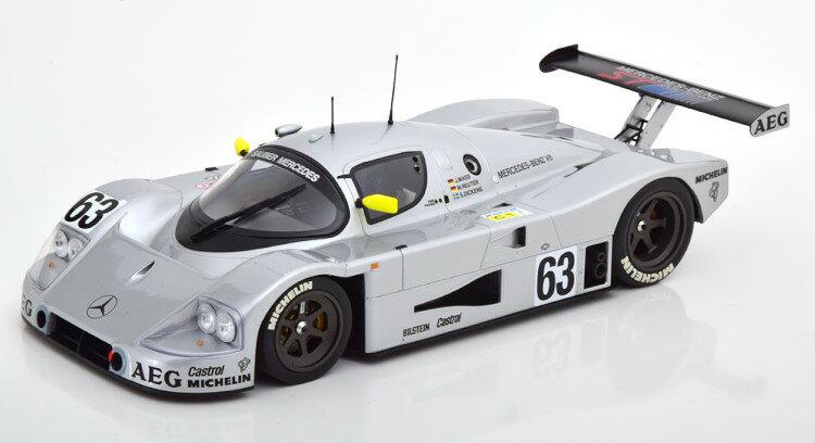 車, ミニカー・トイカー  118 C9 63 1989 MINICHAMPS 1:18 Mercedes Sauber C9 63 Mass Reuter Winner Le Mans 1989 silver
