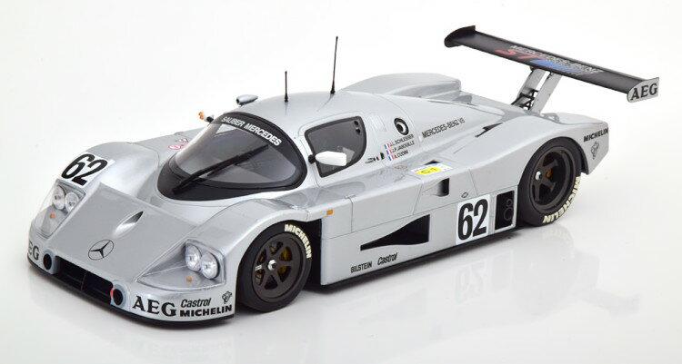 車, ミニカー・トイカー  118 C9 62 1989 MINICHAMPS 1:18 Mercedes Sauber C9 62 Mass Reuter Le Mans 1989 silver