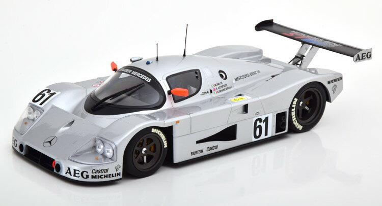 車, ミニカー・トイカー  118 C9 61 1989 MINICHAMPS 1:18 Mercedes Sauber C9 61 Mass Reuter Le Mans 1989 silver