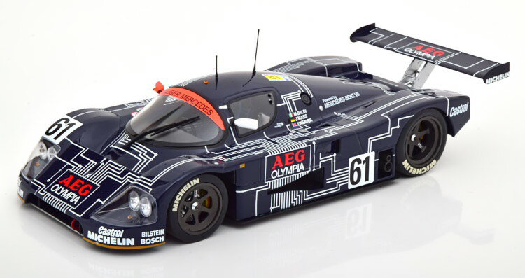 車, ミニカー・トイカー  118 C9 61 1988 504 Minichamps 1:18 Mercedes Sauber C9 No 61 24h Le Mans 1988 DARK BLUE Limited Edition 504 pcs