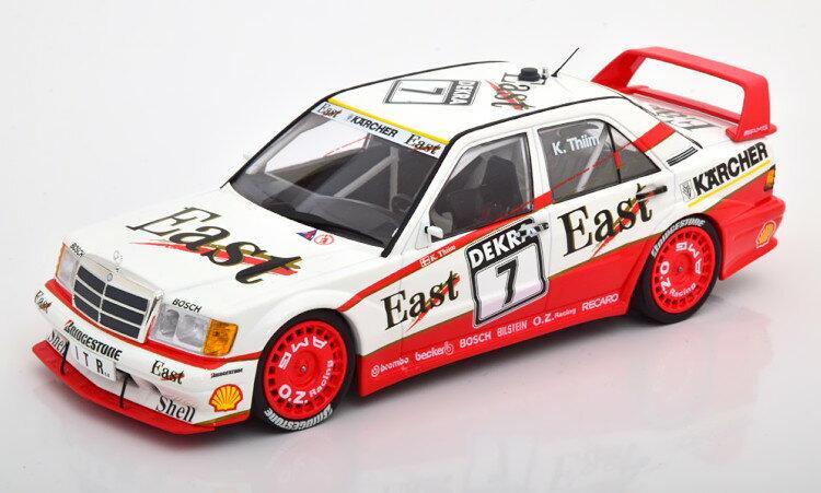 車, ミニカー・トイカー  118 190E 2.5-16 EVO 2 7 DTM 1991 362 Minichamps 1:18 Mercedes 190E 2.5-16 Evo 2 7 DTM 1991 East Thiim White Red Limited Edition 362 pcs