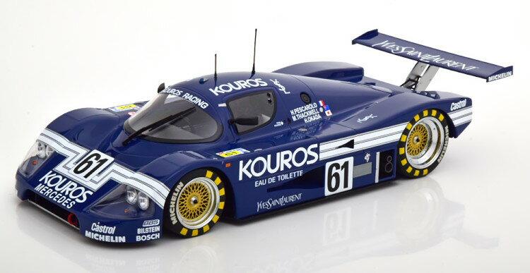車, ミニカー・トイカー  118 C9 61 24 1987 504 Minichamps 1:18 Mercedes Sauber C9 No 61 24h Le Mans 1987 Kouros ThackwellPescaroloOkada Limited Edition 504 pcs