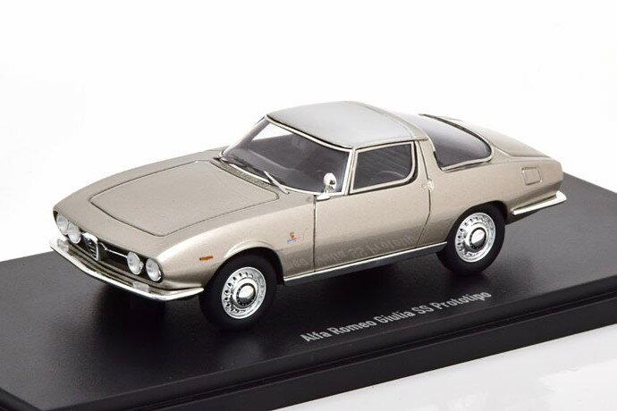 車・バイク, クーペ・スポーツカー  143 SS 1965 333 Alfa Romeo Giulia Prototipo silver Limited Edition 333 pcs