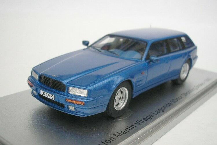 車, ミニカー・トイカー KESS 143 1993 250 KESS MODEL 1:43 ASTON MARTIN VIRAGE LAGONDA SHOOTING BRAKE 1993 BLUE MET LIMITED 250 ITEMS