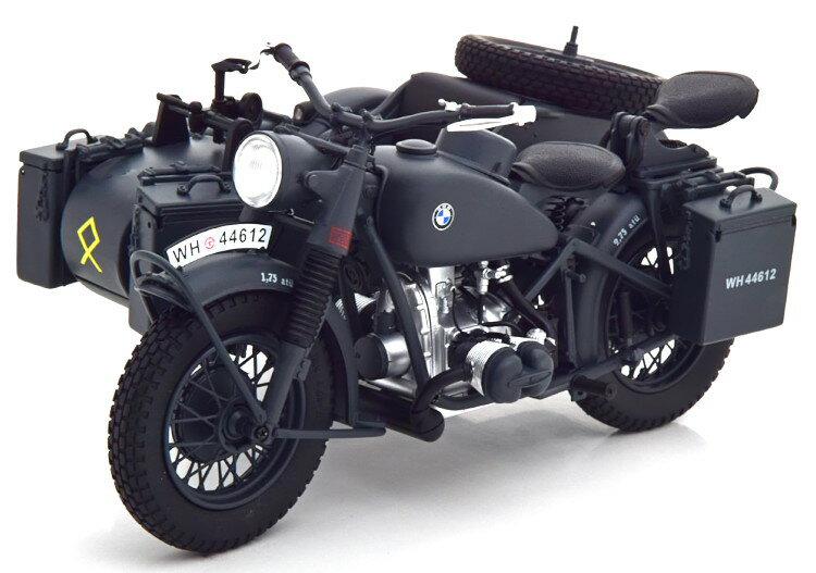 車, ミニカー・トイカー  110 BMW R75 Schuco 1:10 BMW R75 with sidecar black