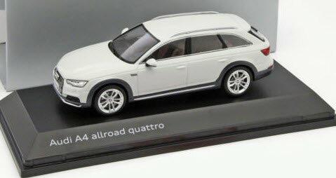 車, ミニカー・トイカー  143 A4 2016 SPARK 1:43 AUDI A4 ALLROAD QUATTRO 2016 GLACIER WHITE
