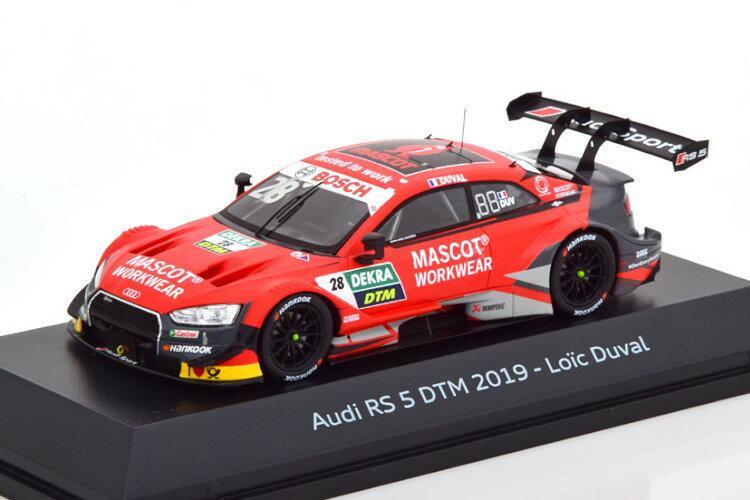 車, ミニカー・トイカー  143 RS5 28 DTM 2019 GT Duval special edition of Audi
