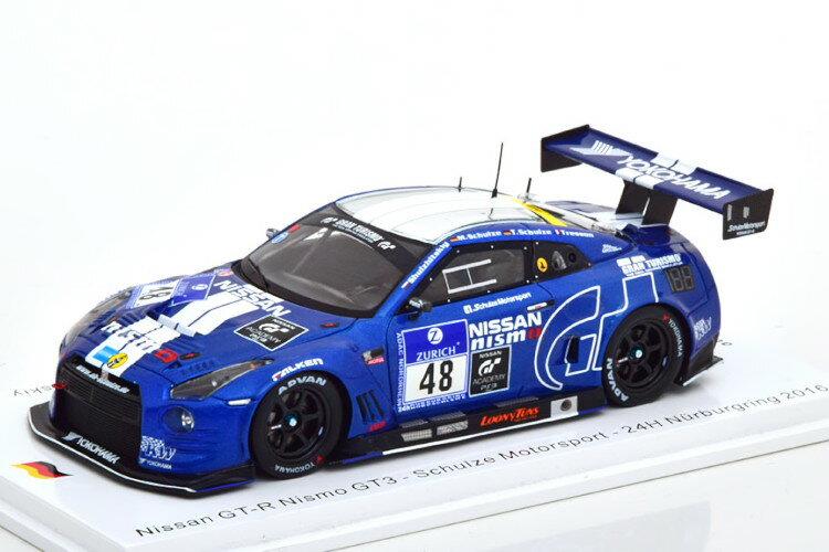 車, ミニカー・トイカー  143 R35 GT-R GT3 24 300 Spark 1:43 Nissan GT-R Nismo GT3 No 48 24h Nur 2016 SchulzeSchulzeTressonShulzhi tskiy Limited Edition 300 pcs