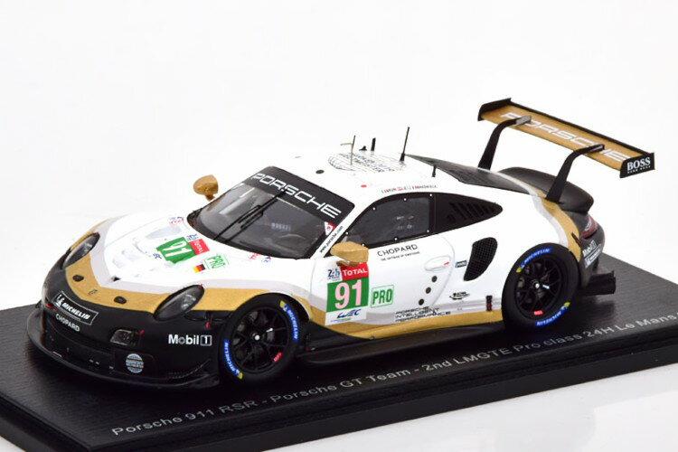 車, ミニカー・トイカー  143 911 991 RSR GTE GT 24 Spark 1:43 Porsche 911 RSR No.91 24h Le Mans 2019