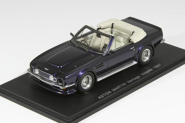 車, ミニカー・トイカー  143 1987 Aston Martin Vantage Volante 1987 Dark Blue